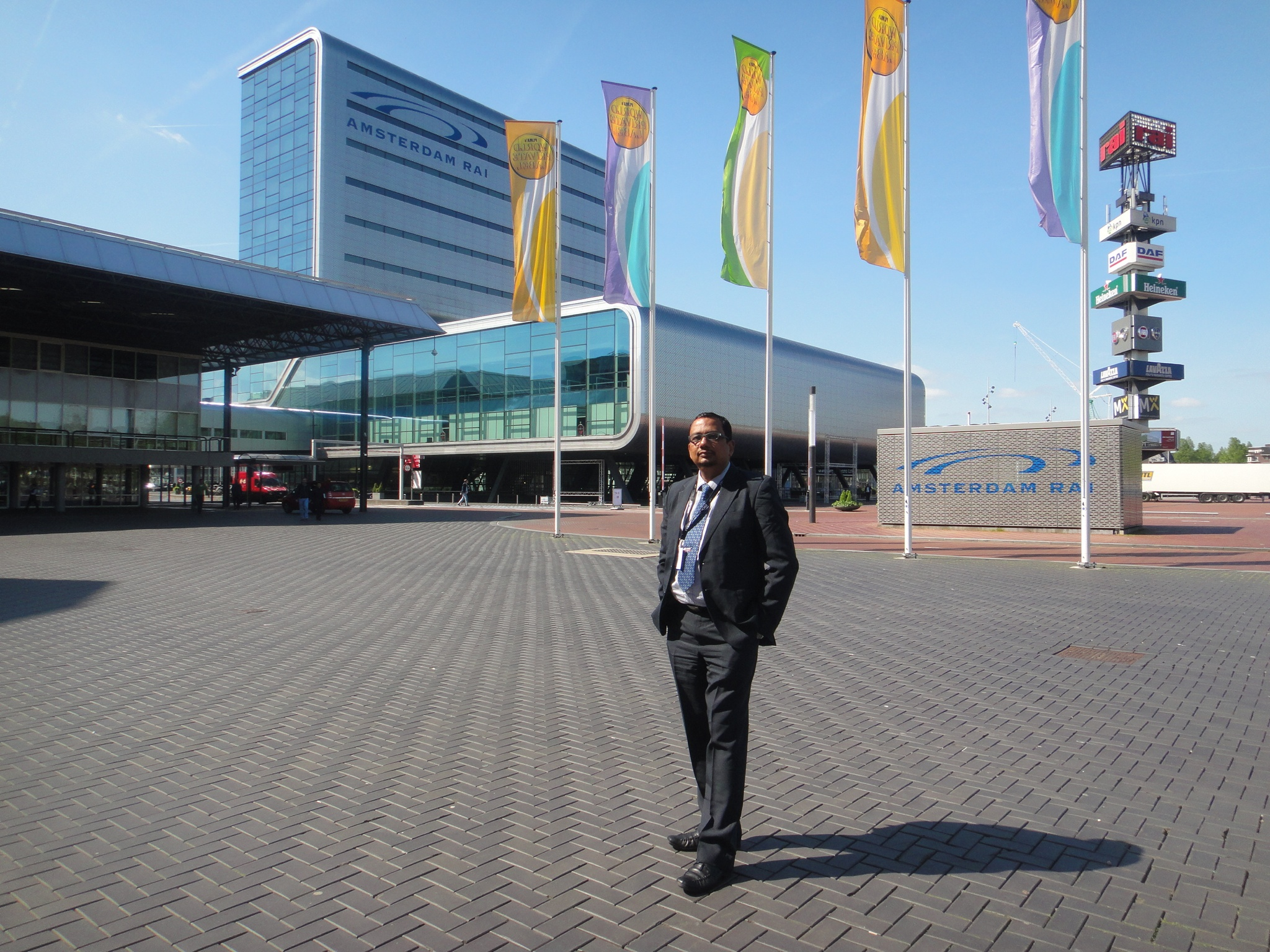 Dr Goyal during European Meeting at Amsterdam