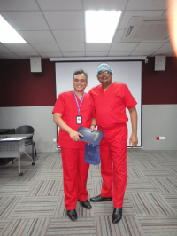 ACRS Cadaveric Workshop 2015, NOCERAL, KL. With Dr Kamarul