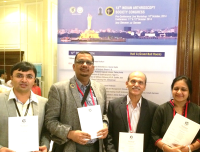 Cartilage Guidelines book launch by Deepak Goyal and the team, IAS meeting 2014