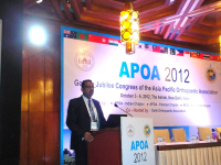 Asia Pacific Orthopedic Association, 2012
