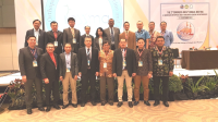 The faculty during IOSSMA, Indonesia
